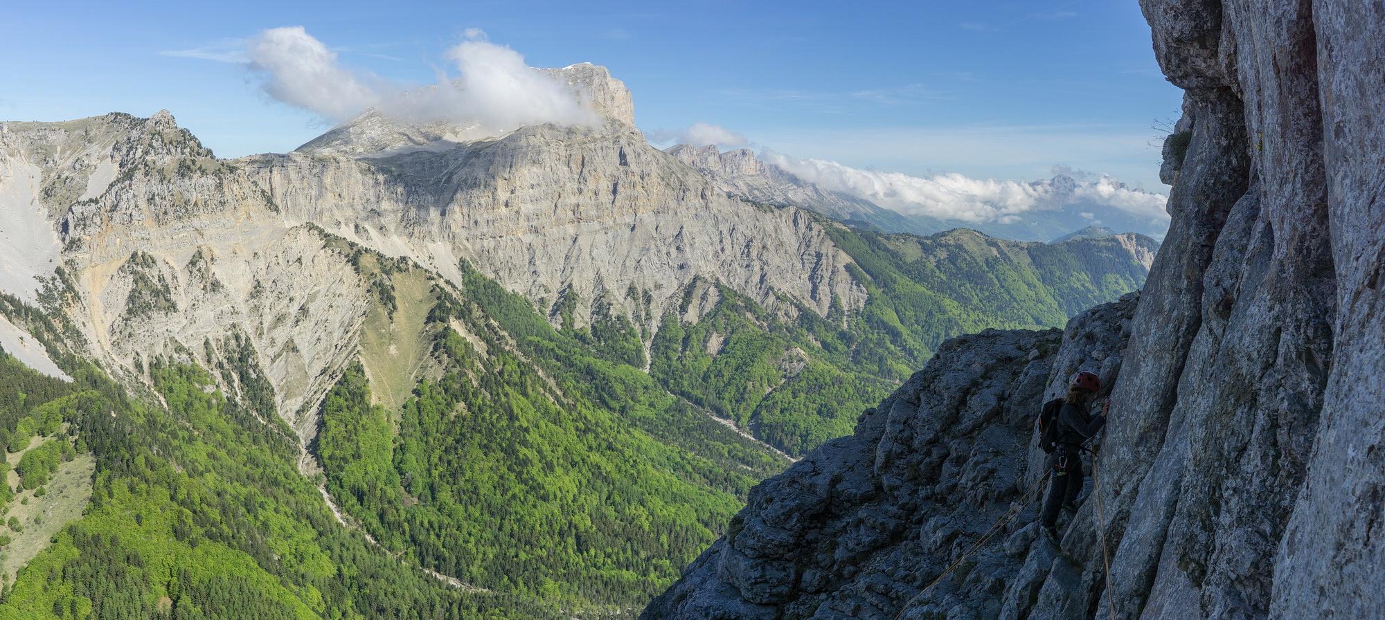 voie normale du mont aiguille guidesdesarcs