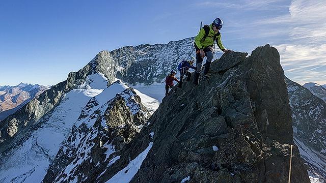 le Mont Pourri avec les Guides des Arcs Peisey Vallandry