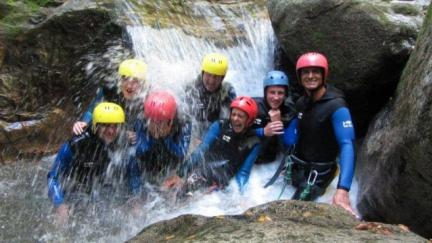 Canyoning les Arcs Bourg Saint Maurice - Savoie