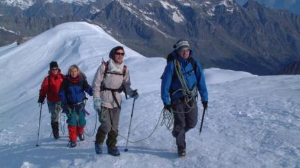Glacier hiking - les Arcs Bourg saint Maurice