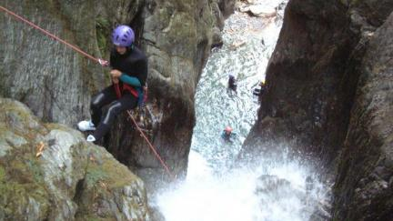 canyoneering - Savoie - Pussy