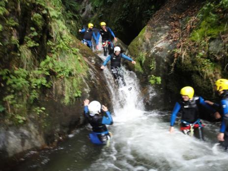 canyonning les Arcs Bourg st Maurice