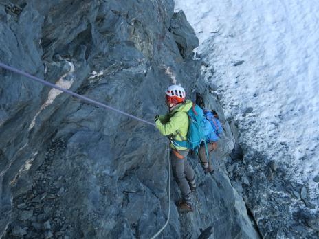 Descente du Col des Roches