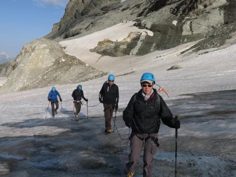 Randonnée glaciaire en Vanoise