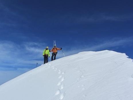 Ski de randonnée en Vanoise  le Mont Pourri - guides des Arcs