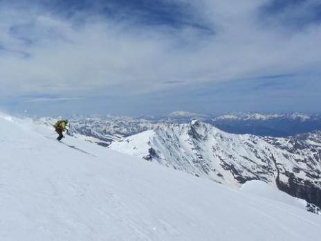 Ski de randonnée Mont Pourri - guides des Arcs