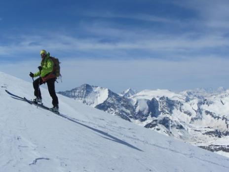 Ski de randonnée le Mont Pourri - guides des Arcs