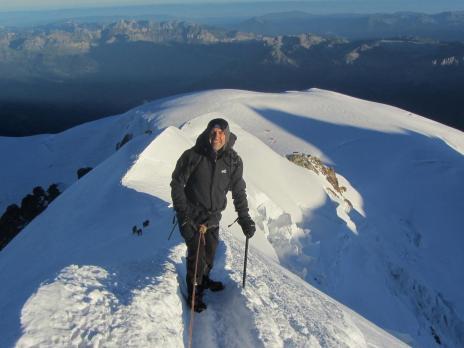 Le Mont Blanc descente par l'arête des Bosses - Guides des Arcs