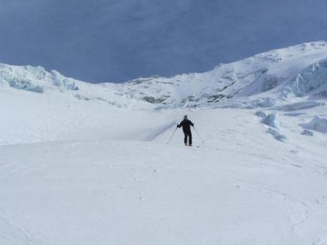 Descente du glacier du Geay - Vanoise