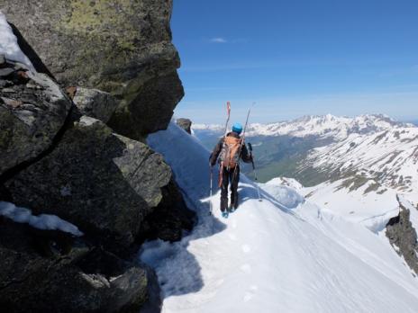 En montant au Mont Valaizan