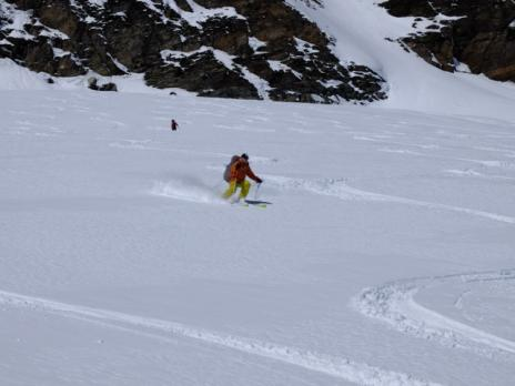 Randonnée à ski en Vanoise