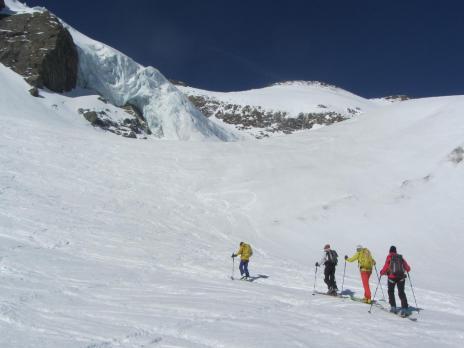 Ski de randonnée en Vanoise - La Selle de l'Albaron