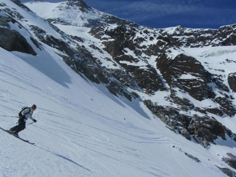 Ski de randonnée en Vanoise - Glacier des Evettes