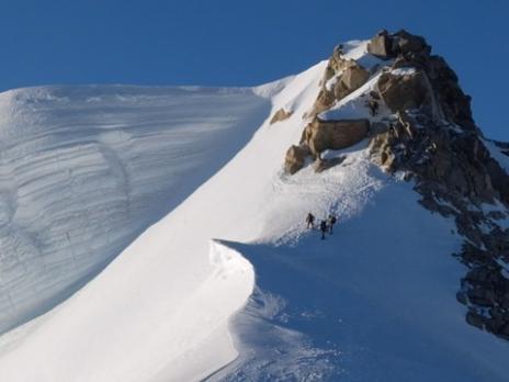 Le sommet du Tacul