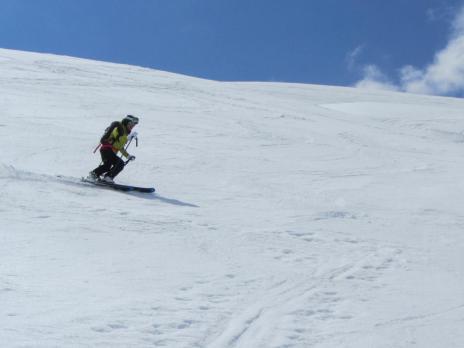 Ski de randonnée en Vanoise - l' Arête de Montséti