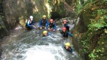 Canyoning aux Arcs - canyoning en  Savoie